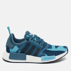 Женские кроссовки adidas Originals NMD R1 Blanch Blue/Collegiate Navy
