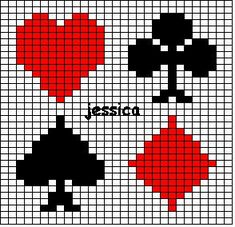 For Deans Office Perler Patterns, Loom Patterns, Beading Patterns, Plastic Canvas Coasters, Plastic Canvas Patterns, Beaded Cross Stitch, Cross Stitch Embroidery, Knitting Charts, Knitting Patterns