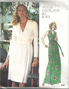 1970s Bill Blass Vogue Americana Dress Mid-Knee Evening 1015 Pattern Bust 36  $40.00  #vintage #collectible #beautiful #design #antique #followme #FF #instafollow, #l4l #tagforlikes #followback #photooftheday #billblass    Purchase here: http://bit.ly/2oUxqol   https://champagnevintagechic.com