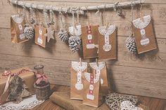 Gestalte jetzt deinen Papiertüten Adventskalender. Gestalte die Tüten mit deinem Fotos, Sprüchen und Motiven. Ein wundervoller und…