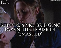 Another one of my favourite episodes,Buffy The Vampire Slayer