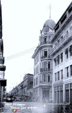 Fotos de Tampico, Tamaulipas, México: Edificio Alijadores en la inundacion de 1933