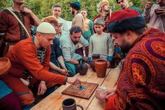 10th century reenactment group from Russia.