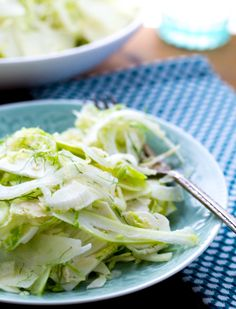 Apple Fennel Brussel sprout slaw