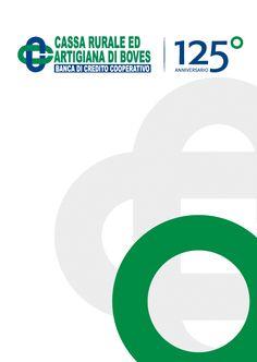BCC Realizzazione LOGO 125° anniversario #design #playadv #bank #logo #advertising