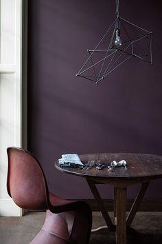 Trend 2018 | Deep dark purple | Diep donker paars | Interior inspiration | Interieur inspiratie