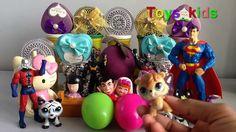 Play Doh & Toys, Surprise Eggs   Spongebob   star Was   Disney, Donald D...