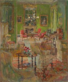 Susan Ryder ~ Castle Drawing Room