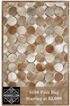 https://poshrug.com/collections/cowhide-patchwork-rugs/products/brown-white-circle-pattern-rug-ad-339