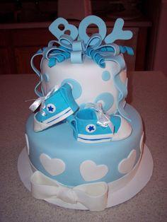 Baby Shower Cake, Boy — Baby Shower