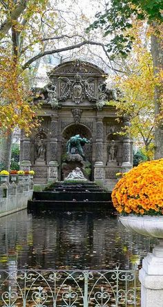 Medici Fountain ~ Jardin du Luxembourg, Paris, France | Flickr - Photo  by Pooh to You
