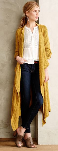 Chevronstitch Cardigan