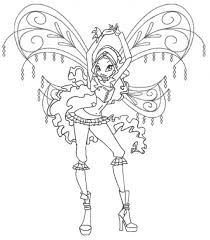 image result for winx club coloring pages