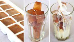 Nejlepší ledová káva s mandlovým mlékem | NejRecept.cz A Food, Food And Drink, Frappe, Panna Cotta, Pudding, Smoothie, Ethnic Recipes, Fancy, Diet
