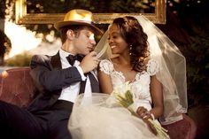 Love is sweet - France-Laure et Mario - Mariage rétro années Folles - Photo: Trianon Wedding Photography - La Fiancée du Panda blog Mariage & Lifestyle
