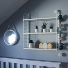 Diy string inspired shelf