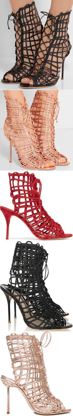 """Sophia Webster """"Delphine"""" Cage Gladiator Sandal"""