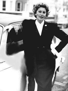 Ava Gardner in later years in London