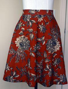 gemusterter Hollyburn skirt