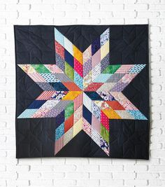 How to Make A Lone Star Quilted Wall Hanging