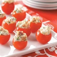 BLT Bites (1) From: Key Ingredient, please visit this would be a lovely late afternoon snack- actually going to make this today!!!!!