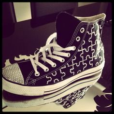 Puzzle converse all star, available in all sizes and colours :)