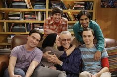 The Cast of The Big Bang Theory with Stan Lee