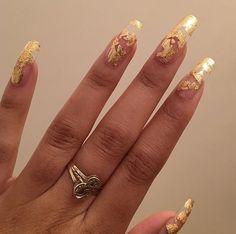 Semi-permanent varnish, false nails, patches: which manicure to choose? - My Nails Cute Nails, Pretty Nails, Gorgeous Nails, Acryl Nails, Nail Polish, Clear Nails, Prom Nails, Wedding Nails, Gold Nails