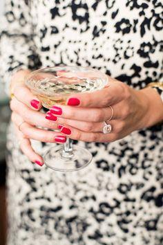 Pink diamond ring | Photo by Scott Clark Photo | Read more - http://www.100layercake.com/blog/?p=69304