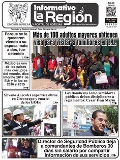 Lea la Edición impresa digital No. 2184 #Zitácuaro, Mich. 8/Julio/2017. http://issuu.com/laregionenlinea/docs/laregion2184/1 #Michoacan
