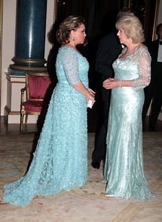 With Camilla, Duchess of Cornwall