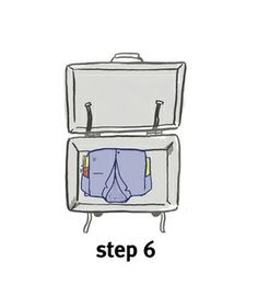 Hate ironing on vacation? Try bundling your clothes rather than folding them for a wrinkle-free suitcase.
