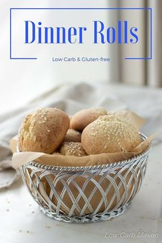 Low Carb Rolls for Dinner or Sandwiches. Easy low carb rolls made with the fathead dough are great for keto diets! These buns are great as a side or for healthy low carb sandwiches! This recipe is keto friendly, vegetarian and gluten free. Lowest Carb Bread Recipe, Low Carb Bread, Low Carb Keto, Keto Bread, Bread Baking, Low Carb Desserts, Low Carb Recipes, Pain Keto, Cena Keto