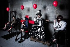 "DADAROMA will release their new mini album ""This is 'LIVE& on March and has a new look! Mini album: This is ""LIVE"" Release date: March 2017 Tracks: Phantom… Kei Visual, Pretty Boys, Mini Albums, Kinky, New Look, Pure Products, Concert, Rock, Beautiful"
