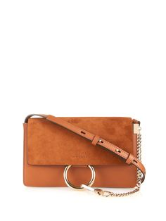 replica chloe bag - Drew Mini Leather Saddle Crossbody Bag | Leather Shoulder Bags ...