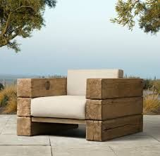 Beau Furniture: Wooden Lounge Chair The Aspen Lounge Chair From Restoration  Hardware Scandinavian Artisan Design By Søren Rose Features French Oak  Timbers Oak ...