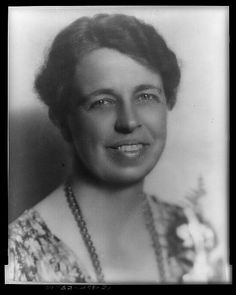 In 1940, Eleanor Roosevelt addressed delegates at the Democratic National Convention in Chicago on behalf of her husband, making her the first candidate's spouse ever to do so. (photo: Library of Congress Prints and Photographs Division)