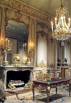 Louis XV Desk, Versailles.