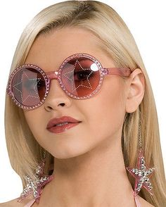 012096bf4c Glasses 175646  Morris Costumes Accessories And Makeup Glasses Stars Are  Blind Pink. Ru8250 -