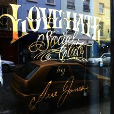 gold foil on window - Google Search