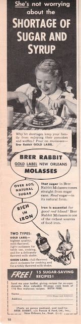 Brer Rabbit Vintage Ad