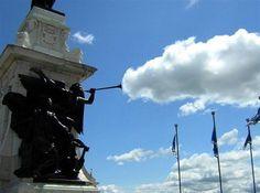 Trumpet clouds