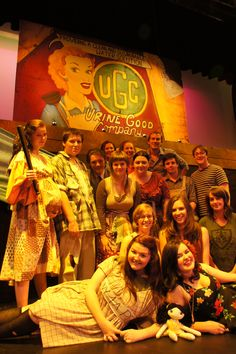Rosny students in Urinetown