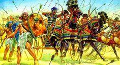 Qadesh, la gran mentira de Ramsés II