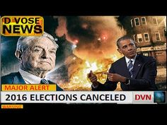 MAJOR ALERT OBAMA TO CANCEL ELECTIONS - CONFIRMED  Sep 5, 2016
