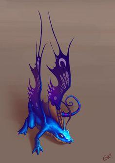 Faerie Dragon by ~gregorKari on deviantART