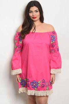 4d913952135 S10-16-4-d509x fuchsia plus size dress 2-2-2