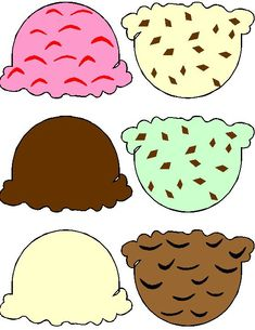 This Ice Cream Cone Printable is a perfect craft for the kids to use to practice their cutting skills. What could be better for a summer kids craft project. Ice Cream Cone Craft, Ice Cream Crafts, Ice Cream Theme, Ice Cream Party, Ice Cream Cone Images, Ice Cream Parlour Role Play, Ice Cream Games, Summer Crafts For Kids, Craft Projects For Kids