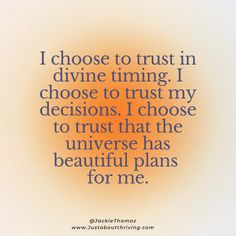start trusting in divine timing | become happy