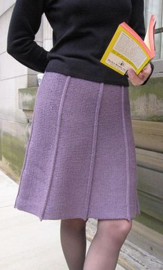 Knitted skirt from Knitty.com, must try once I get circurlar knittin needles - Free Knitting pattern